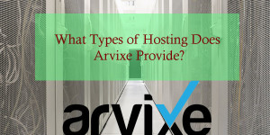 What Types of Hosting Does Arvixe Hosting Provides?