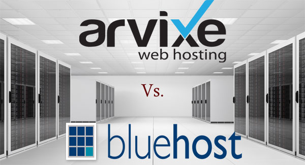 arvixe vs. bluehost