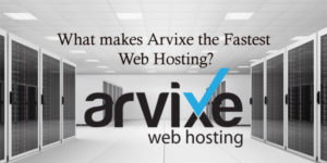 What makes Arvixe the Fastest Web Hosting?
